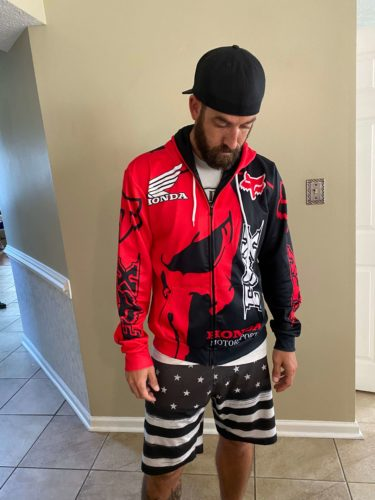 CUSTOM NAME FOX RACING CLOTHING (FULL SIZE) photo review